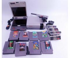 Lot #77 Nintendo NES + 8 Games