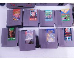 Lot #77 Nintendo NES + 8 Games - Image 3/6