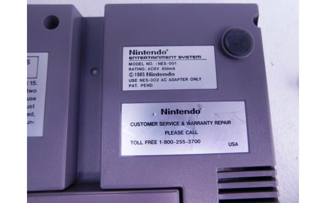 Lot #77 Nintendo NES + 8 Games - 6/6