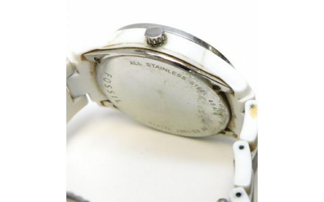 Lot #78 Fossil Women's Icy Bezel Designer Watch - 3/3