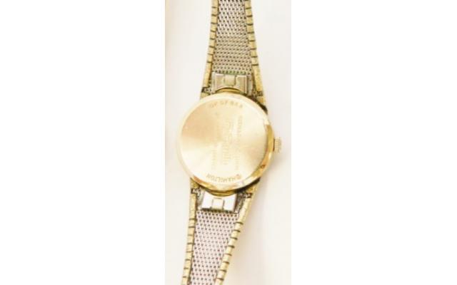Lot #84 VNTG Seiko Round Gold Watch - 2/2