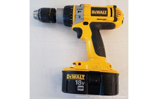 Lot #89 DeWALT 18V XRP Drill Recharger Drill - 2/6