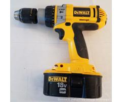 Lot #89 DeWALT 18V XRP Drill Recharger Drill