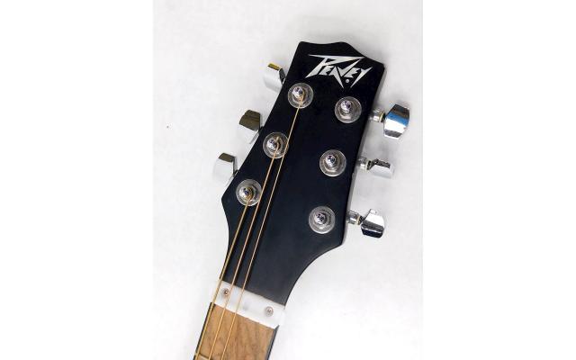 Lot #96 Peavey Acoustic Guitar - 2/10